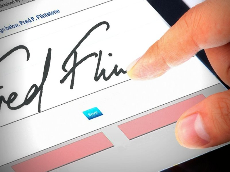 Digital Signatures Across The Entire System